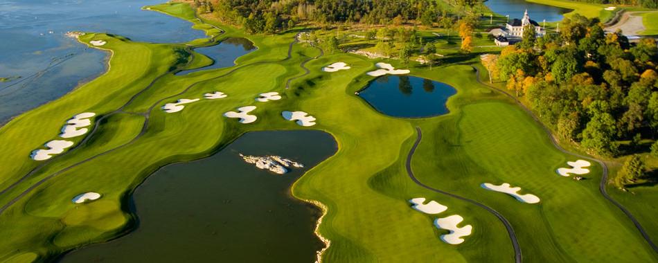 Bro Hof Stadium Golf Course Stockholm
