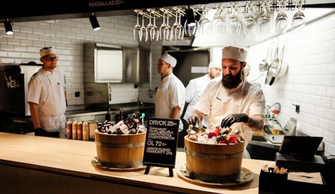 Restaurant in Stockholm Ringen Teater