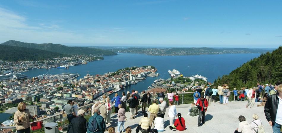 Photo: Floyen, Bergen Tourist Board / Matjaz Inthar - visitBergen.com