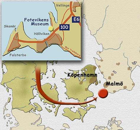 Foteviken map