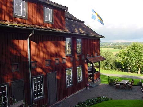 Only preserved oast house in Sweden