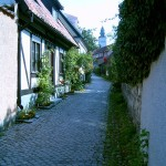 Alley in Visby