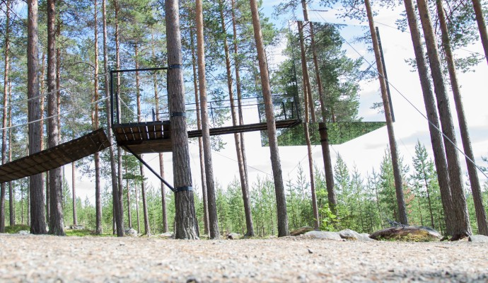 Tree house Photo: Caroline Lundmark