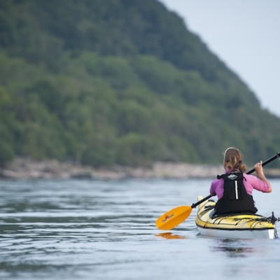 Kayaking in Mölle