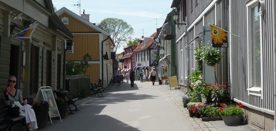 Sigtuna pedestrian alley