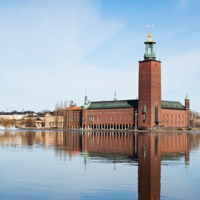 City Hall of Stockholm Photo: Anna Andersson, Stockholm imagebank