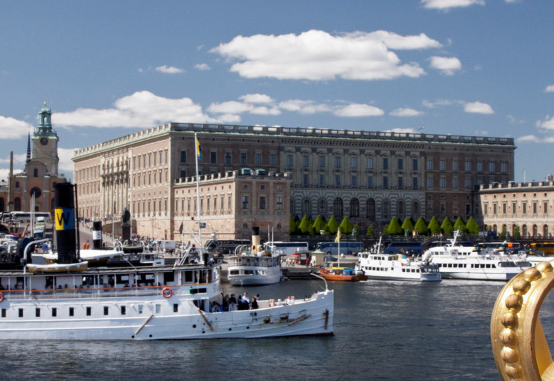 View to Royal Cours Photo: Ola Ericson, imagebank.Sweden.se